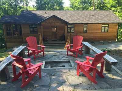 Photo for Modern Executive Cottage Rental in Haliburton