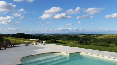 Stunning view from the secluded private patio