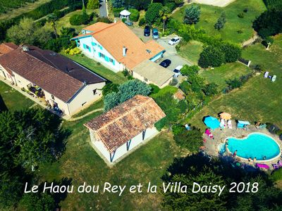 Photo for Villa Daisy large house with private garden and access to large garden with pool