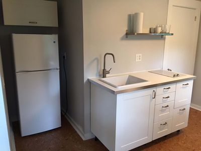 Photo for Quiet Efficiency apartment. Sleeps 1-2 Near area beaches and amenities. Near RT6