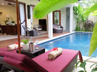 Photo for Modern Balinese Villa with Pool In Central Sanur