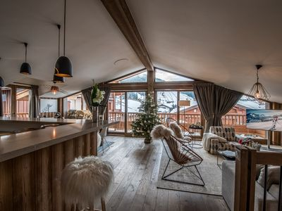 Photo for New chalet in the heart of the authentic village of Praz