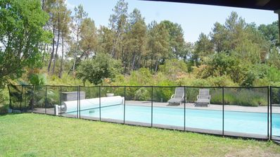 Photo for Heated pool ss vis vis forest, covered terrace