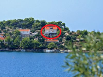 Photo for Apartment in Skrivena Luka (Lastovo), capacity 2+2