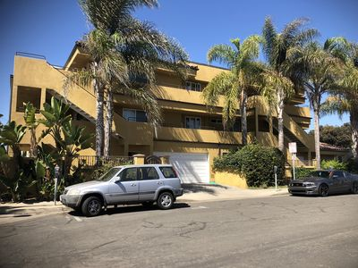 Photo for Oside condo on second floor with ocean views 1 block from ocean