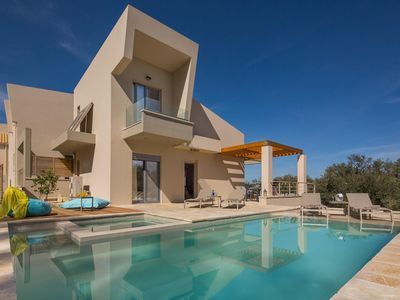 Photo for Roda Villa, Sleeps 4 with Pool, Air Con and WiFi