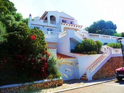 Photo for Villa with Pool - Stunning sea views