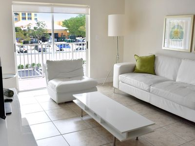 Photo for FANTASTIC 2 X 2BR/2BA IN KEY BISCAYNE, STEPS TO THE BEACH, POOL, PARKING KITCHEN
