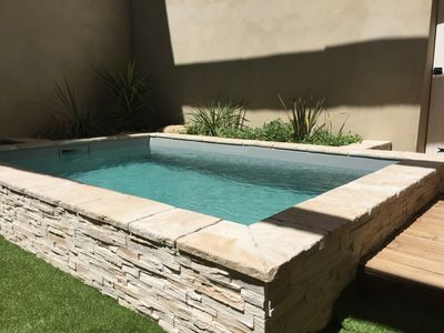 Photo for Village house with heated pool