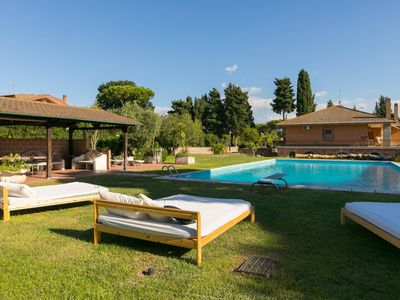Photo for Rome by the pool