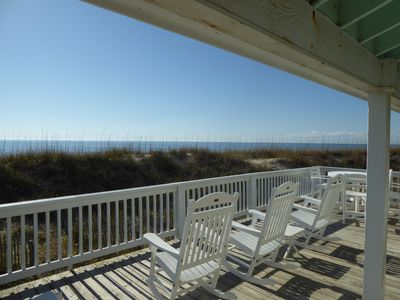 Photo for Oceanfront Beauty--Panoramic Views--Bald Head Club Included--Shoals Club Avail