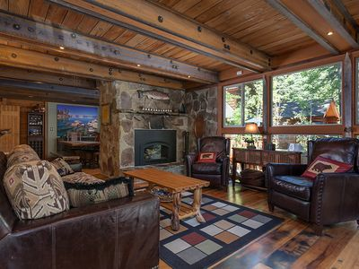 Photo for Hoeck Hacienda: 4 BR / 2.5 BA house and ski lease in Tahoe City, Sleeps 7