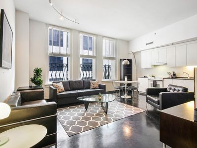 Photo for NEW LISTING! Upscale loft in the Warehouse District