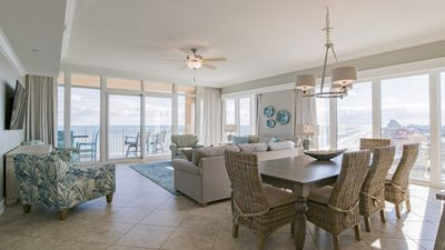 Photo for ALL NEW!!  LAZY RIVER!!  BEACHFRONT!! 4BR Beauty!!