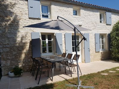 Photo for Cottage Oxalyd 6 places, near Rochefort, ideal with family or friends