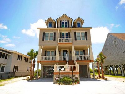 Photo for Myrtle Beach Oceanfront Home, 8 Bedroom + 8.5 Bathrooms - Sleeps 30!!!