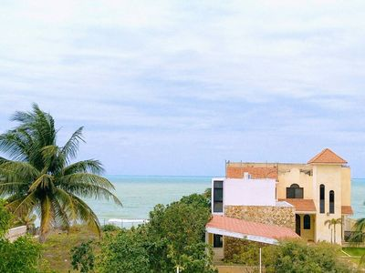 Photo for Beachfront Apartment in Progreso - Three Bedroom Apartment, Sleeps 6
