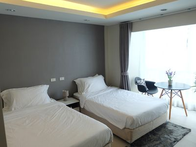 Photo for Exclusive Inn at Ratchada/Theme park/MRT/2-pax room