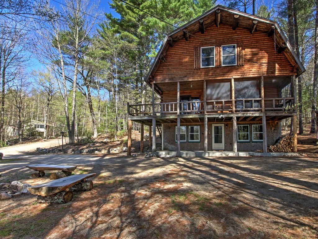 New 39 treehouse 39 4br madison cabin w game homeaway for Madison cabin rentals