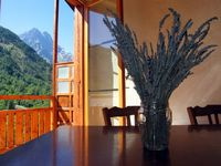 Great, quiet and well equipped apartment with fabulous views.