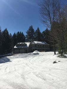 Photo for Beautiful ski house located .2 miles from Sugarbush North
