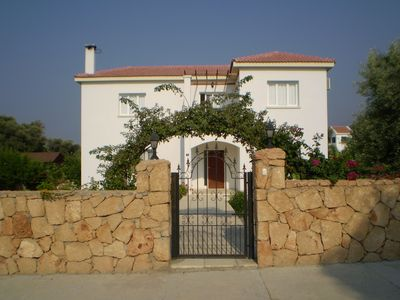 Photo for 3 Bed villa with private pool and views 5 mins from beach.