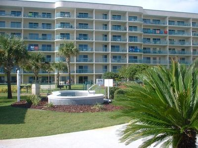 Photo for 7th Night Free! Ground Flr, Gulf View, Near Amenities, 1 BR Palms Unit