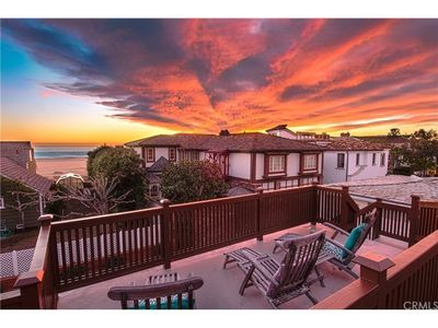 Photo for Beautiful Beach View Home steps from the sand on the Balboa Peninsula in Newport