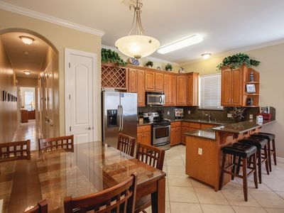 Photo for Condo with Pool! Conveniently Located a Block from Beach and Walking Distance to Attractions!