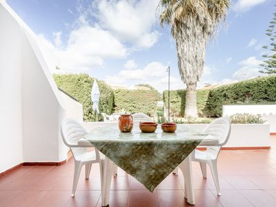 Photo for Sunny villa on Altura beach, garden, Wifi, air conditioning, ground zero