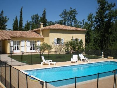 Photo for Spacious villa in Saint Paul en Forêt with private pool not overlooked