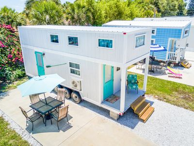 Photo for Tiny House Sand Dollar - beachy tiny house living
