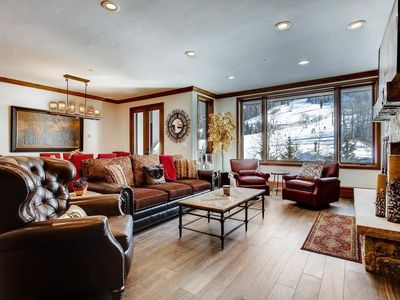 Photo for Ski-in, Ski-out Beaver Creek Condo with Private Hot Tub: Summit Sanctuary