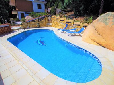 Photo for Vacances & Villas Lloret - VILLA PEONET with private pool with large garden.