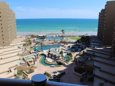 Photo for Perfect for couples! Las Palomas 1 Bedroom Beauty, Steps to Pools & Beach