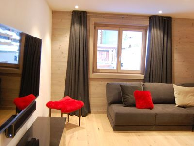 Photo for Nice apartment for 10 guests with hot tub, WIFI, TV, balcony and parking