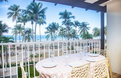Two bedrooms Ocean Front Unit with big balcony