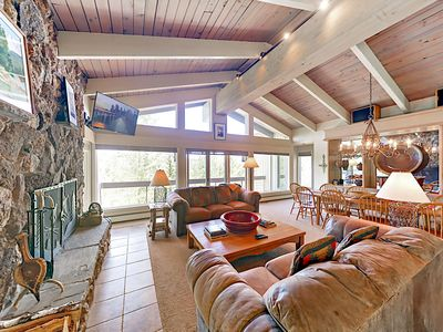 Photo for Gorgeous 4BR + Den, Snowmass Home w/ Hot Tub & Views - 100' to Slopes