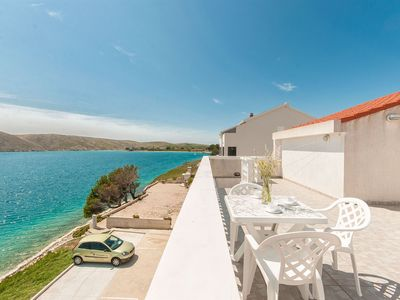 Photo for Apartments Tomo (13561-A3) - Vlasici - island Pag