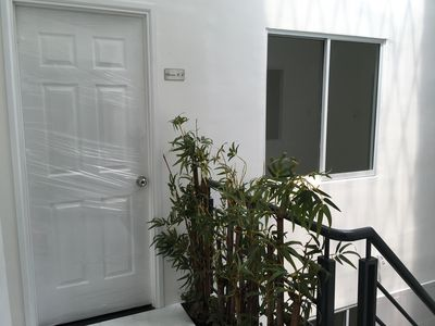 Photo for Brand-new studio apartment with western style, open-air with nature.