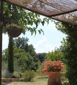 Photo for Beautiful house, magnificent view, a lovely garden, pool, close to vibrant villa