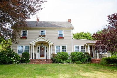 The Auberge at Feather Hill is a charming New England colonial