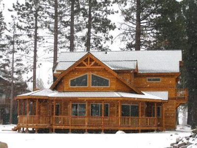 Photo for Exquisite & luxurious Tahoe home with a hot tub for your family