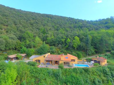 Photo for Luxury Villa with separate gite in private woodland