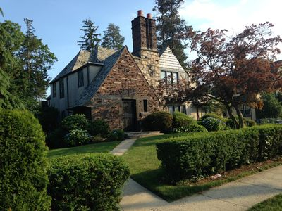 Photo for Fabulous English Tudor in New Rochelle, Walk to train to NYC and Amtrak!