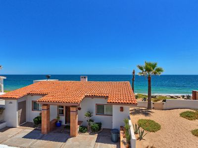 Photo for Cozy Beach Front  Home  2 bedrm, 2 bath in Las Conchas  with Tennis & Kayaks