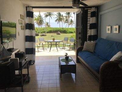 Photo for Beach front apartment! Come on and enjoy the beautiful Las Picuas Beach