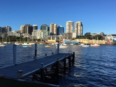 Photo for Unbeatable Harbour Views Ferry at your doorstep