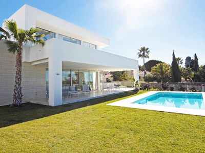 Photo for Stunning Brand New Villa with Private Pool / seaviews, close to the beach