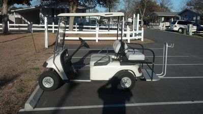 FREE  GOLF CART LOCATED AT 410 SANDLEWOOD !!!!!!